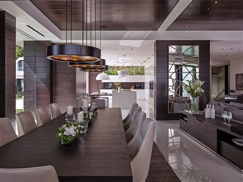 mansion dining room 1201 laurel way cliff view luxurious modern mansions in