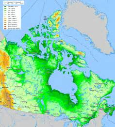 topographical maps of canada