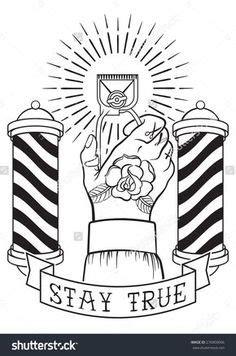 mandala tattoo künstler barber pole neo traditional tattoo flash by blackmast