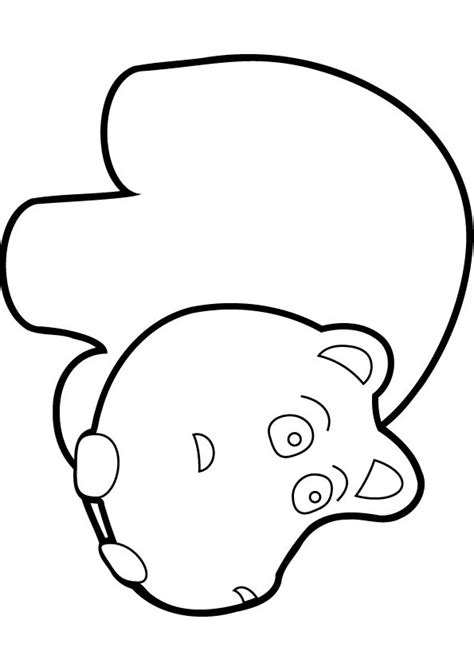 free baby hippo coloring page