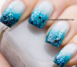 gallery for gt gradient glitter nail art