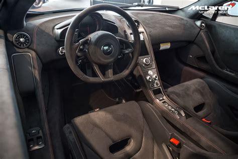 Mclaren Car Interior by Mclaren 675lt In Grey At Mclaren Newport