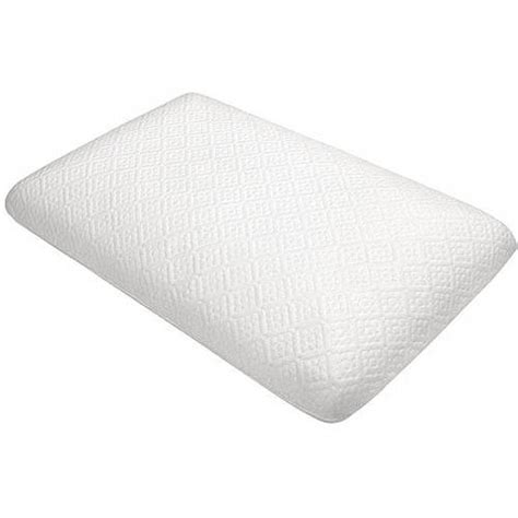 Walmart Pillows Memory Foam by Classic Molded Memory Foam Pillow Set Of 2 Walmart