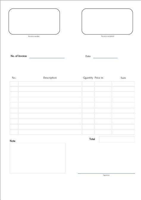 Fillable Pdf Invoice Bing Images Invoice Template Pdf Fillable