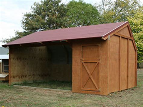 Shed X by Shelter With Single Tack Shed