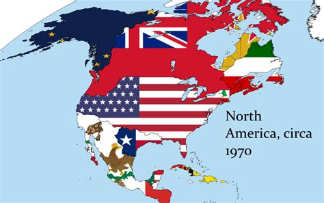 north america map with flags north america flag gallery