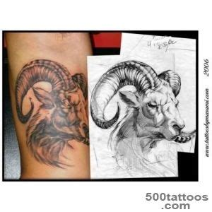 ram tattoo meaning ram designs ideas meanings images