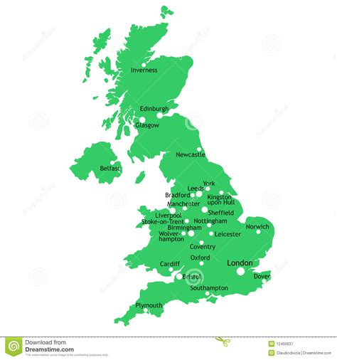 vector map of the uk royalty free stock images image 4213469 uk map stock vector image of country coventry 12450637