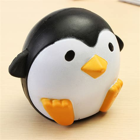 Squishy Ibloom Penguin Squishy Pinguin Squishy Penguin squishy penguin 10cm rising soft kawaii animals collection gift decor alex nld