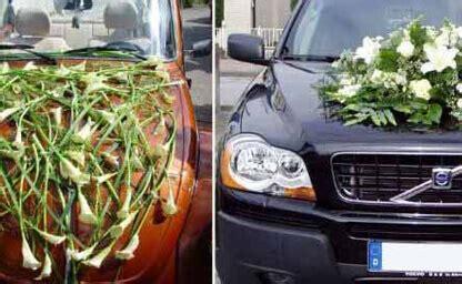 Hochzeitsschmuck Auto by Hochzeitsfloristik Blumen Jentsch