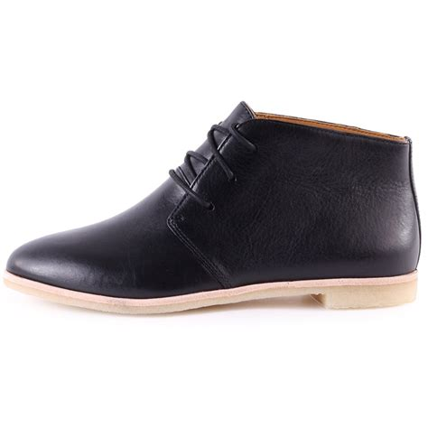 clarks boots clarks originals phenia desert womens ankle boots in black