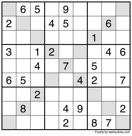 printable diagonal sudoku web sudoku printable daily sudoku variation