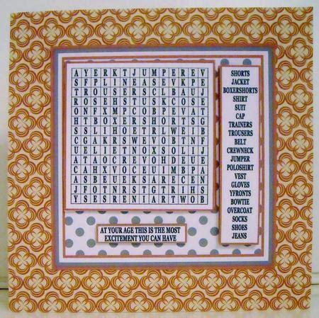 Bulu Pad Motif 3 Pam 3 puzzle 1 wordsearch mens clothes cup635283 1566