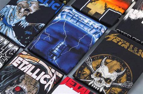 Kaos Band Metalica rekomendasi 5 tempat beli baju band original di jakarta