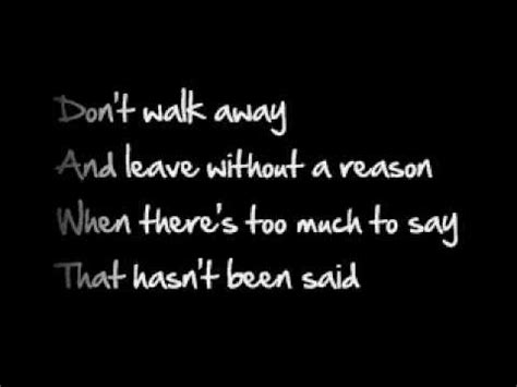 sick puppies lyrics don t walk away videolike