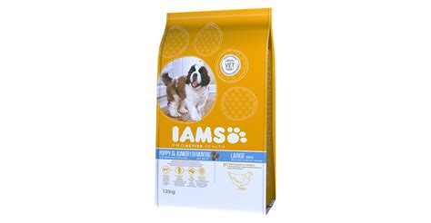 iams puppy iams proactive health puppy junior large breed rich in chicken pet food for cat dogs