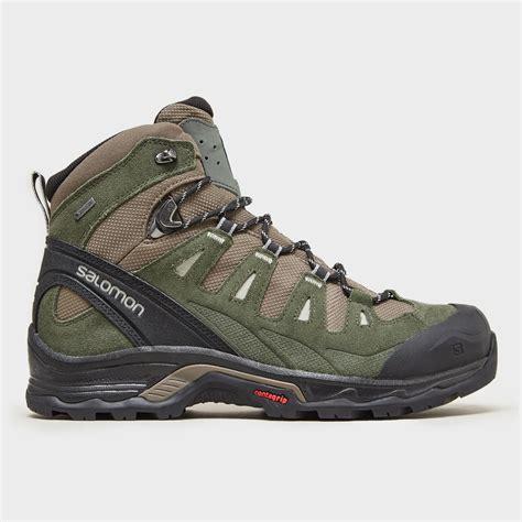 mens salomon walking boots salomon men s quest prime gtx walking boots