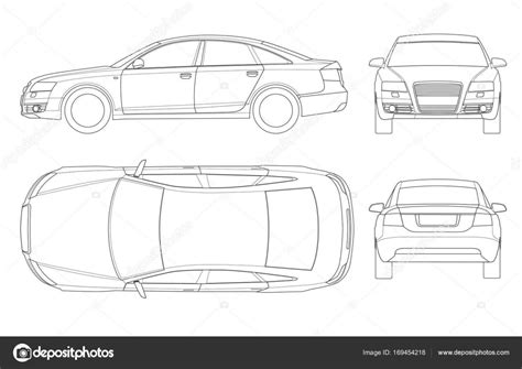 free vehicle outlines templates vehicle outline templates vehicle ideas