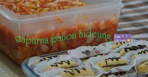 Asinan Buah Kelubi Merk Anugerah dari sentuhan jemari asinan buah soes untuk arisan