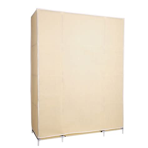 Cloth Storage Wardrobe by 50 Quot Portable Wardrobe Folding Closet Hanging Cloth Storage Cabine Home Incd Vat Ebay