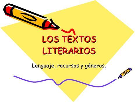 imagenes de textos libres 7 los textos literarios