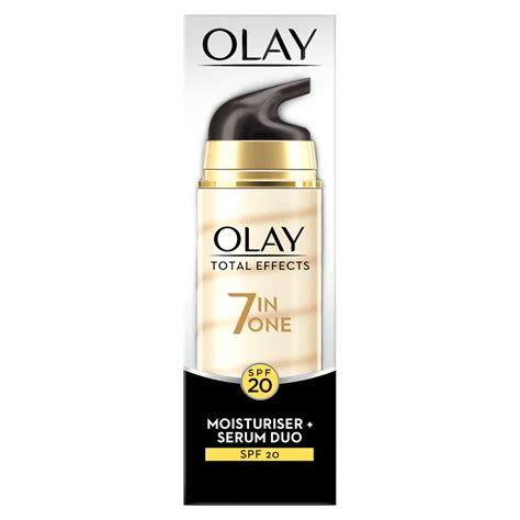 Serum Olay Total Effect olay total effects 2in1 serum 40ml at wilko