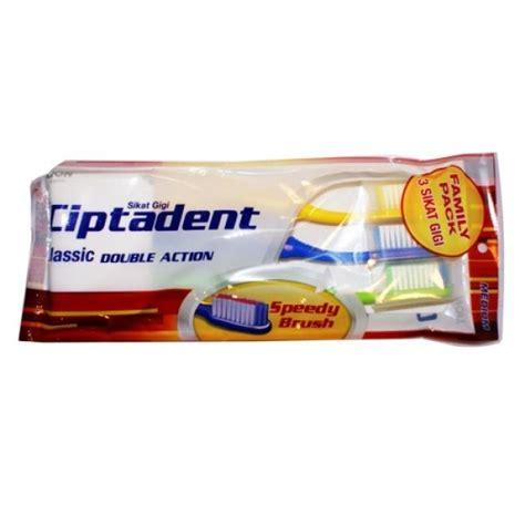 Toothbrush Set Sikat Gigi Latihan ciptadent toothbrush 3 set kotak medium