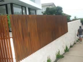 corcoran s the metal fabricators clovely corten fencing