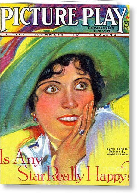 card magazines usa 1920s usa picture play magazine cover drawing by the