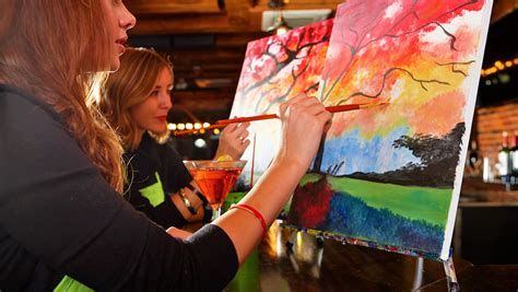 paint nite york events win tickets to paint nite 174
