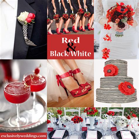colors that go with black and white black and white wedding colors seven glorious
