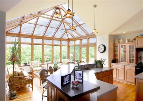 Kitchen In Sunroom by Conservatory Orangery Garden Room The