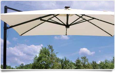 ombrellone da giardino ombrellone da giardino con led 3x3 rettrattile telo