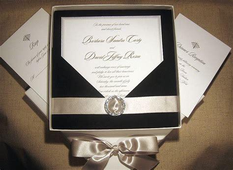 wedding invitation wording black tie wedding invitations with crystals black tie