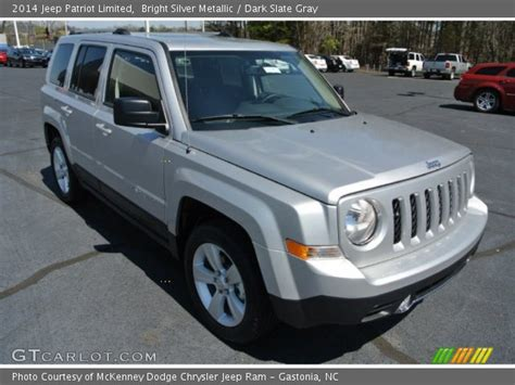 silver jeep patriot interior bright silver metallic 2014 jeep patriot limited