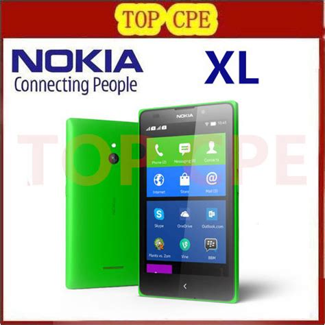 Hp Nokia Xl 1030 aliexpress buy unlocked original nokia xl 1030 qualcomm dual sim cell phones 5 inch 768mb