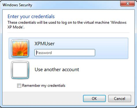 reset password windows xp virtual machine how to reset forgotten xpmuser password in windows xp mode