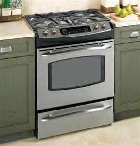 ge profile countertop stove p2s975semss ge profile 30 quot dual fuel slide in range