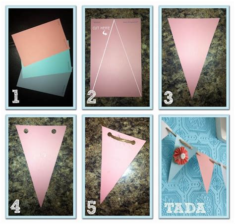 diy baby shower banner template decor diy banner how to oh baby shower