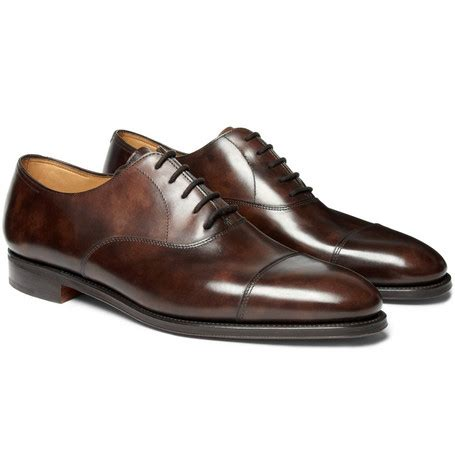 Dress Shoes Cities by Lobb City Ii Leather Oxford Shoes