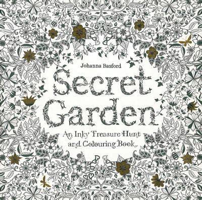 secret garden colouring book waterstones secret garden by johanna basford waterstones