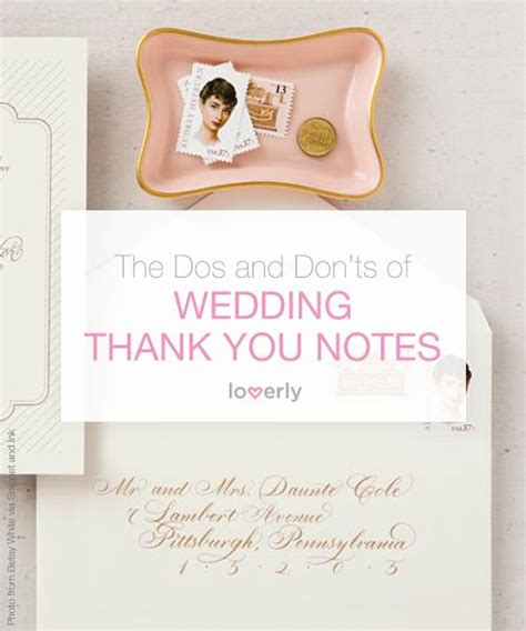 thank you letter to for wedding invitation stationery wedding paper products 2113467