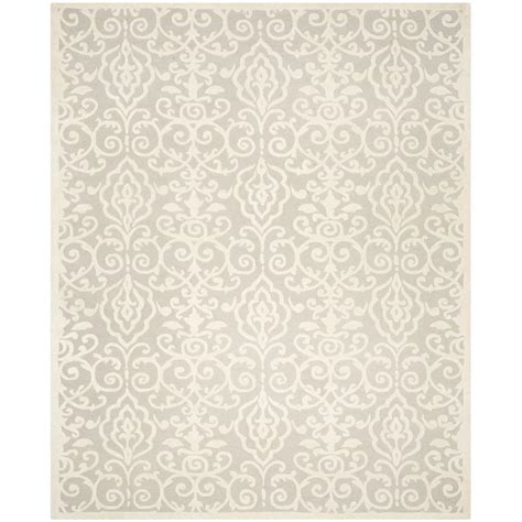 martha stewart rugs home depot martha stewart living whetstone grey 8 ft x 10 ft area rug msr4324a 8 the home depot