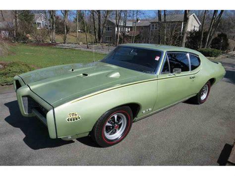 1969 Pontiac Tempest For Sale by 1969 Pontiac Tempest For Sale Classiccars Cc 1057449