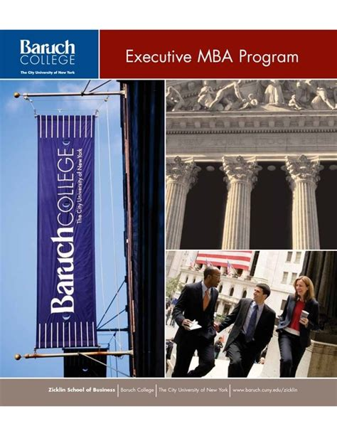Baruch Executive Mba by 17 Best Images About Baruch College Zicklin School Of