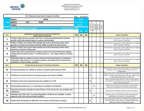 safety audit report template exle safety audit report and program audit template