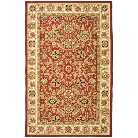 8 x 9 area rugs safavieh chelsea ivory 8 ft 9 in x 11 ft 9 in area rug hk157a 9 the home depot