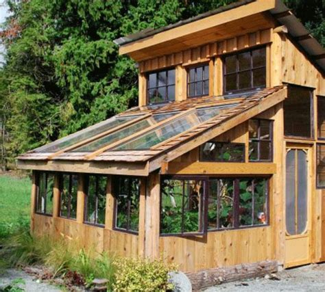 bloombety small rustic home plans with sliding door greenhouses from old windows and doors insteading