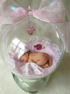 it s a baby girl 4 quot polymer clay baby ornament