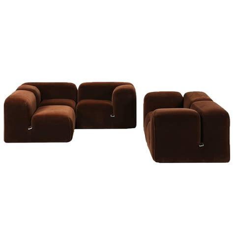 bellini sofa mario bellini sofa mario bellini dark brown velvet le mura